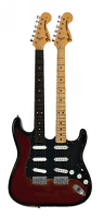 Glimour double neck Stratocaster